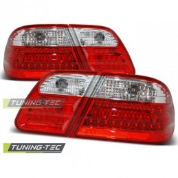 LED FEUX ARRIERE RED WHITE fits MERCEDES W210 95-03.02, Classe E W210