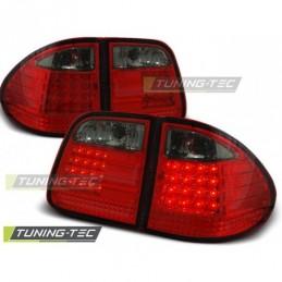 LED FEUX ARRIERE RED SMOKE fits MERCEDES W210 95-03.02 KOMBI, Classe E W210