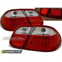 LED FEUX ARRIERE RED WHITE fits MERCEDES W208 CLK 03.97-04.02, Clk W208