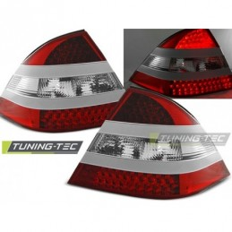 LED FEUX ARRIERE RED WHITE fits MERCEDES W220 S-KLASA 09.98-05.05,  Classe S W220