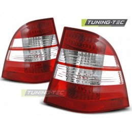 LED FEUX ARRIERE RED WHITE fits MERCEDES W163 ML M-KLASA 03.98-05, ML W163