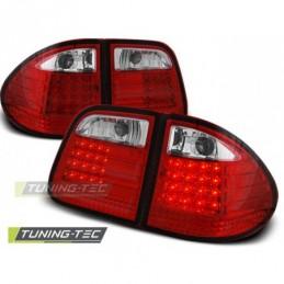 LED FEUX ARRIERE RED WHITE fits MERCEDES W210 E-KLASA 95-03.02 KOMBI, Classe E W210