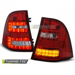 LED FEUX ARRIERE RED WHITE fits MERCEDES W163 ML M-KLASA 03.98- 05, ML W163