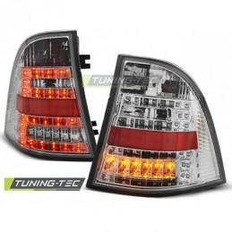 LED FEUX ARRIERE CHROME fits MERCEDES W163 ML M-KLASA 03.98-05, ML W163