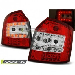 LED FEUX ARRIERE RED WHITE fits AUDI A4 10.00-10.04 AVANT, A4 B6 00-05