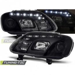 PHARES AVANTS DAYLIGHT BLACK fits VW TOURAN 02.03-10.06 / CADDY, Touran I 03-10
