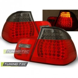 LED FEUX ARRIERE RED SMOKE fits BMW E46 05.98-08.01 SEDAN, Serie 3 E46 Berline/Touring