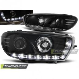 PHARES AVANTS DAYLIGHT BLACK fits VW SCIROCCO 08-04.14, Scirocco
