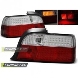 LED FEUX ARRIERE RED WHITE fits BMW E36 12.90-08.99 COUPE, Serie 3 E36 Coupé/Cab