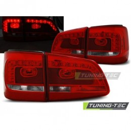 LED FEUX ARRIERE RED WHITE fits VW TOURAN 08.10- , Touran II 10-15