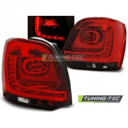 LED FEUX ARRIERE RED SMOKE fits VW POLO 09-14, Polo V 6R 09-14