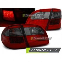 LED FEUX ARRIERE RED SMOKE fits MERCEDES W211 WAGON E-KLASA 02-06, Classe E W211