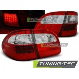 LED FEUX ARRIERE RED WHITE fits MERCEDES W211 WAGON E-KLASA 02-06, Classe E W211