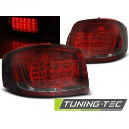LED FEUX ARRIERE RED SMOKE fits AUDI A3 08-12, A3 8V 12-16