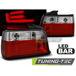 LED BAR FEUX ARRIERE RED WHIE fits BMW E36 12.90-08.99 SEDAN, Serie 3 E36 Berline/Compact