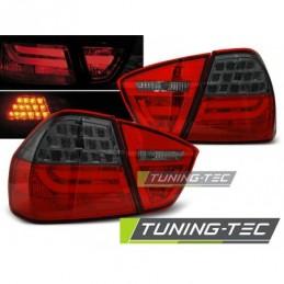 LED BAR FEUX ARRIERE RED SMOKE fits BMW E90 03.05-08.08, Serie 3 E90/E91