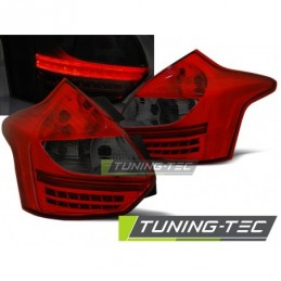FORD FOCUS 3 11- 10.14 HATCHBACK RED SMOKE LED , Focus III 2010+