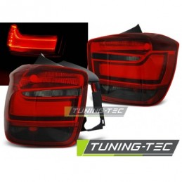 LED BAR FEUX ARRIERE RED SMOKE fits BMW F20 / F21 11-12.14, Serie 1 F20
