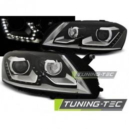 PHARES AVANTS DAYLIGHT BLACK fits VW PASSAT B7 10.10- 10.14 , Passat B7 10-15
