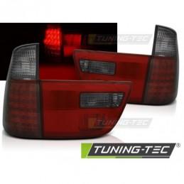 LED FEUX ARRIERE RED SMOKE fits BMW X5 E53 09.99-06, X5 E53