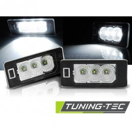 LICENSE LED LIGHTS CLEAR fits AUDI Q5 / A4 08-10 / A5 / TT / VW PASSAT B6 KOMBI, A4 B8 08-11