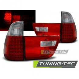 LED FEUX ARRIERE RED WHITE fits BMW X5 E53 09.99-06, X5 E53