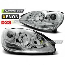 XENON PHARES AVANTS CHROME fits MERCEDES W220 S-KLASA 10.02-05.05,  Classe S W220