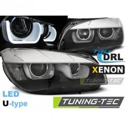 XENON PHARES AVANTS U-LED LIGHT BLACK fits BMW X1 E84 08.12-01.14 , X1 - E84 (2009+)