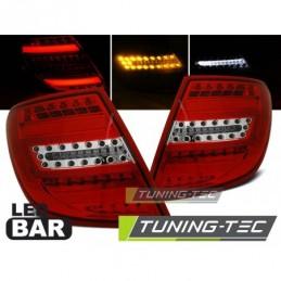 LED BAR FEUX ARRIERE RED WHIE fits MERCEDES C-KLASA W204 KOMBI 07-10, Classe C W204