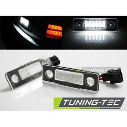 LICENSE LED LIGHTS fits SKODA OCTAVIA 09- / ROOMSTER 06-10 with CANBUS, Eclairage Skoda