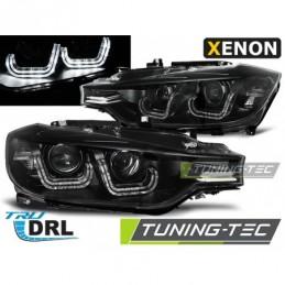 XENON PHARES AVANTS U-LED LIGHT BLACK fits BMW F30/F31 10.11 - 05.15, Serie 3 F30/F31