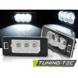 LICENSE LED LIGHTS CLEAR fits BMW E90 / F30 / F32 / E39 / E60 / F10 / X3 / X5 / X6, X5 E70