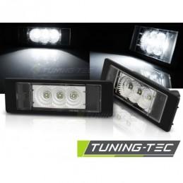 LICENSE LED LIGHTS CLEAR fits BMW E63/E64/E81/E87/Z4/MINI , Serie 1 E81/E87