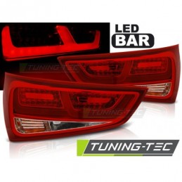 LED FEUX ARRIERE RED WHITE fits. AUDI A1 2010-12.2014, A1