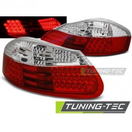 LED FEUX ARRIERE RED WHITE fits PORSCHE BOXSTER 96-04, Boxster / Cayman