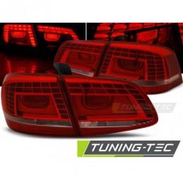 LED FEUX ARRIERE RED WHITE fits VW PASSAT B7 SEDAN 10.10-10.14, Passat B7 10-15