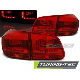 LED FEUX ARRIERE RED fits VW TIGUAN 07.11-12.15