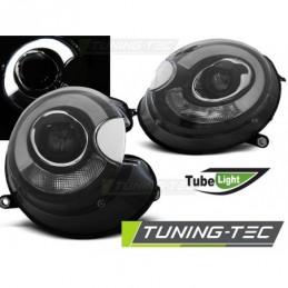 PHARES AVANTS TUBE LIGHT BLACK fits BMW MINI (COOPER) 06-14