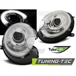 PHARES AVANTS TUBE LIGHT CHROME fits BMW MINI (COOPER) 06-14