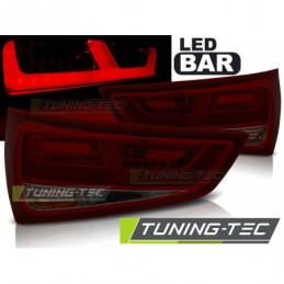 LED FEUX ARRIERE RED SMOKE fits AUDI A1 2010-12.2014