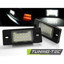 LICENSE LED LIGHTS fits VW TIGUAN / TOUAREG / GOLF V VARIANT / PORSCHE CAYENNE with CANBUS
