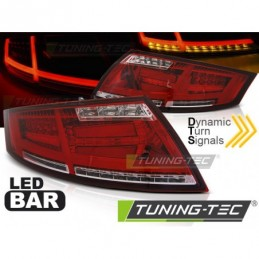 LED BAR FEUX ARRIERE RED WHIE fits AUDI TT 04.06-02.14