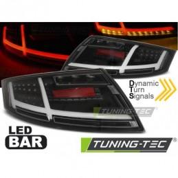 LED BAR FEUX ARRIERE BLACK fits AUDI TT 04.06-02.14