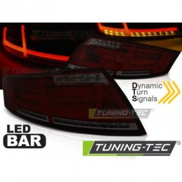 LED BAR FEUX ARRIERE RED SMOKE fits AUDI TT 04.06-02.14