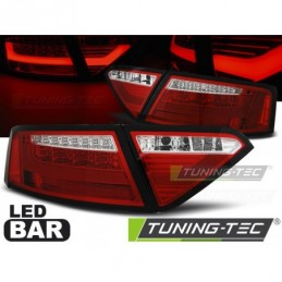 LED BAR FEUX ARRIERE RED WHIE fits AUDI A5 07-06.11