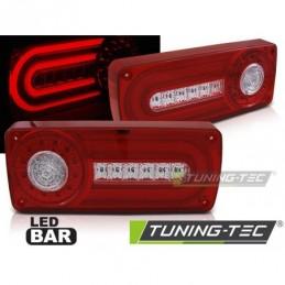 LED FEUX ARRIERE RED WHITE fits MERCEDES W463 G-KLASA 90-12