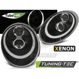 XENON PHARES AVANTS TUBE LIGHT BLACK fits PORSCHE 911 (997) 04-09