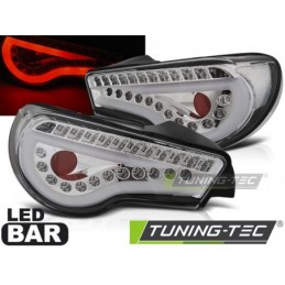 TOYOTA GT86 12-16 LED BAR CHROME