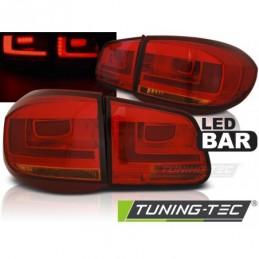 LED BAR FEUX ARRIERE RED fits VW TIGUAN 07-07.11 RED LED BAR