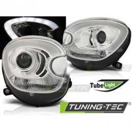 PHARES AVANTS TUBE LIGHT CHROME fits BMW MINI (COOPER) R60 R61 COUNTRYMAN 10-14